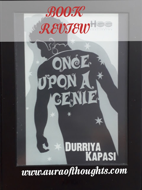 Once upon a genie book review - AuraOfThoughts
