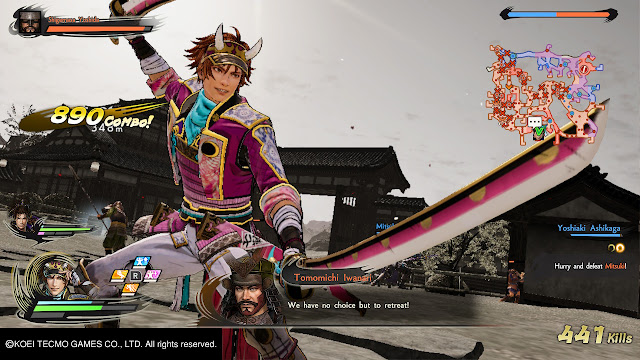 Shikanosuke Yamanaka Samurai Warrior 5 Nitendo Switch