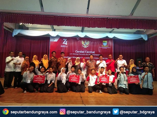 Inilah Sekolah Juara Lomba Cerdas Cermat Ideologi Pancasila Se-Kota Bandung
