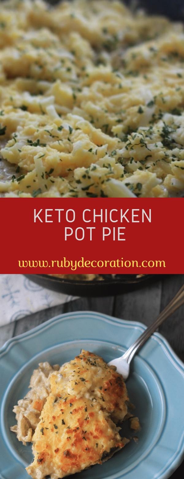 Keto Chicken Pot Pie