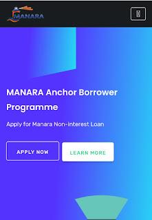 MANARA: APPLY NON INTEREST LOAN