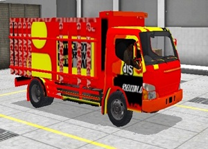 Livery Truk Bussid Canter BST Factory