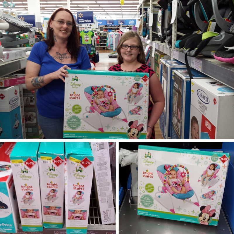 Getting Ready For Maddy At Walmart With Disney Baby Ad Minniemom Disneybaby Amy Aron S