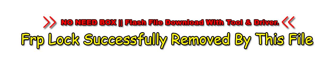 Symphony V92 Flash File MT6580 8.1 Customer Care Firmware