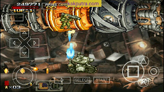 [150MB] Game Metal Slug XX ISO PPSSPP Untuk Android