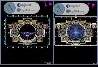 مخطط مسجد