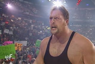 WWE / WWF No Way Out 2001 - The Big Show beat Raven for the WWF Hardcore Championship