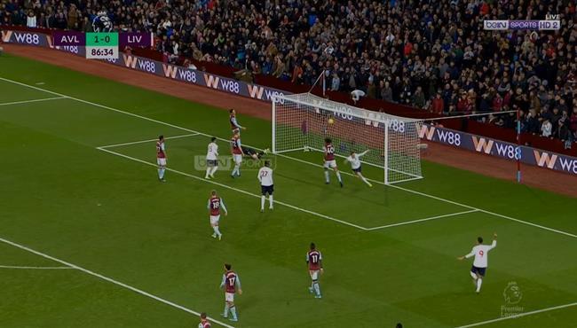 اهداف مباراة ليفربول واستون فيلا (2-1) الدوري الانجليزي