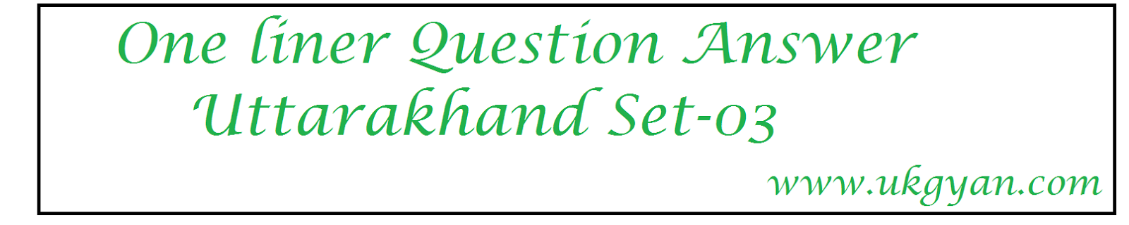 question answer uttarakhand