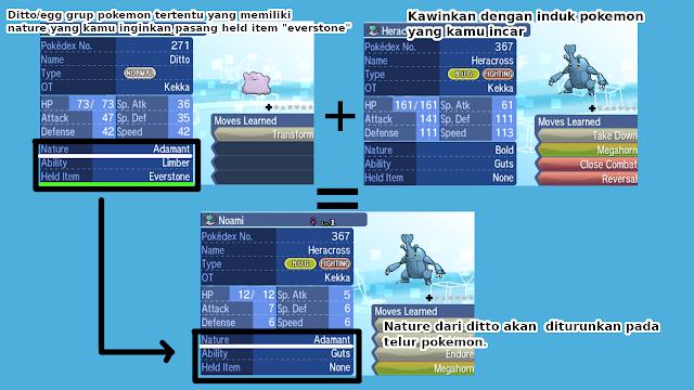 Tips Umum Cara Mendapatkan Nature Pokemon Sesuai Dengan Keinginan!