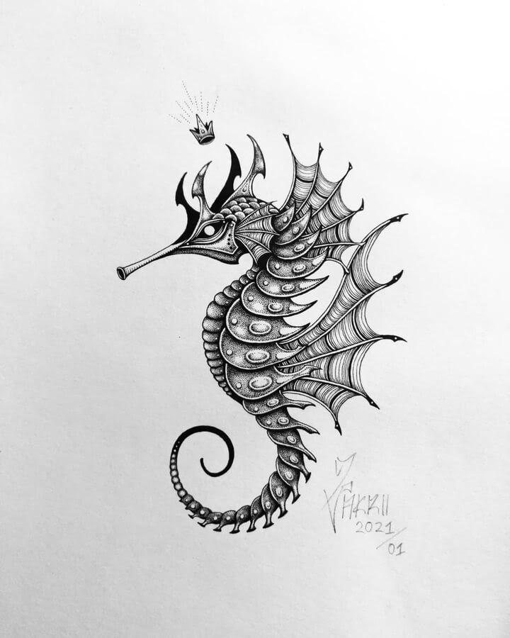 03-Stylised-seahorse-Zakrii-www-designstack-co