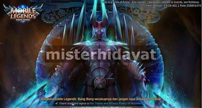 Script Background Mobile Legends Tema Dota 2 Patch Terbaru