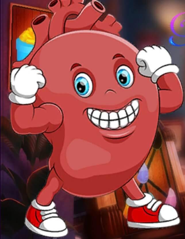 Play Games4King Gleeful Human Heart Escape