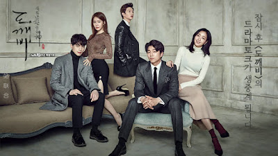 korean drama goblin the lonley and great god, kdrama, love, fantasy, magic