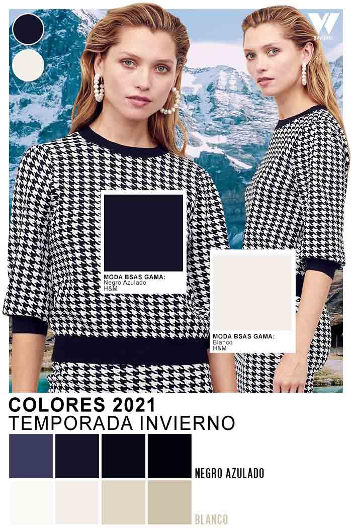 H&M colores de moda otoño invierno 2021