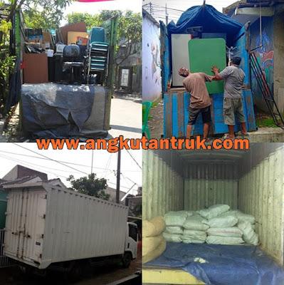 Sewa Truk Colt Diesel Doble CDD Surabaya Jakarta