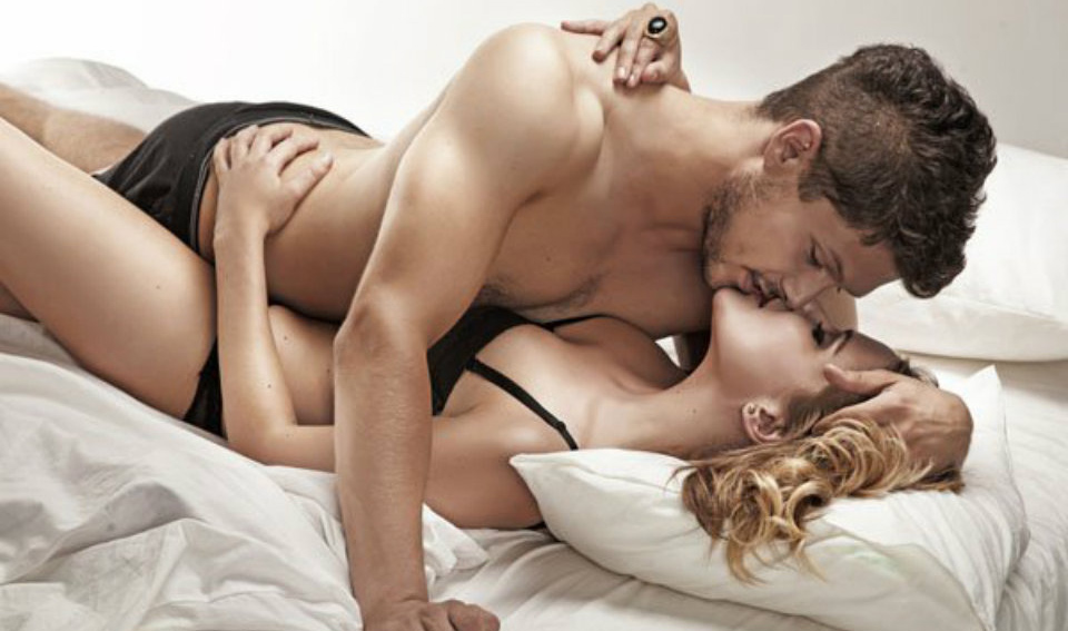 couple in bed sleeping positions can increasing sexual desire