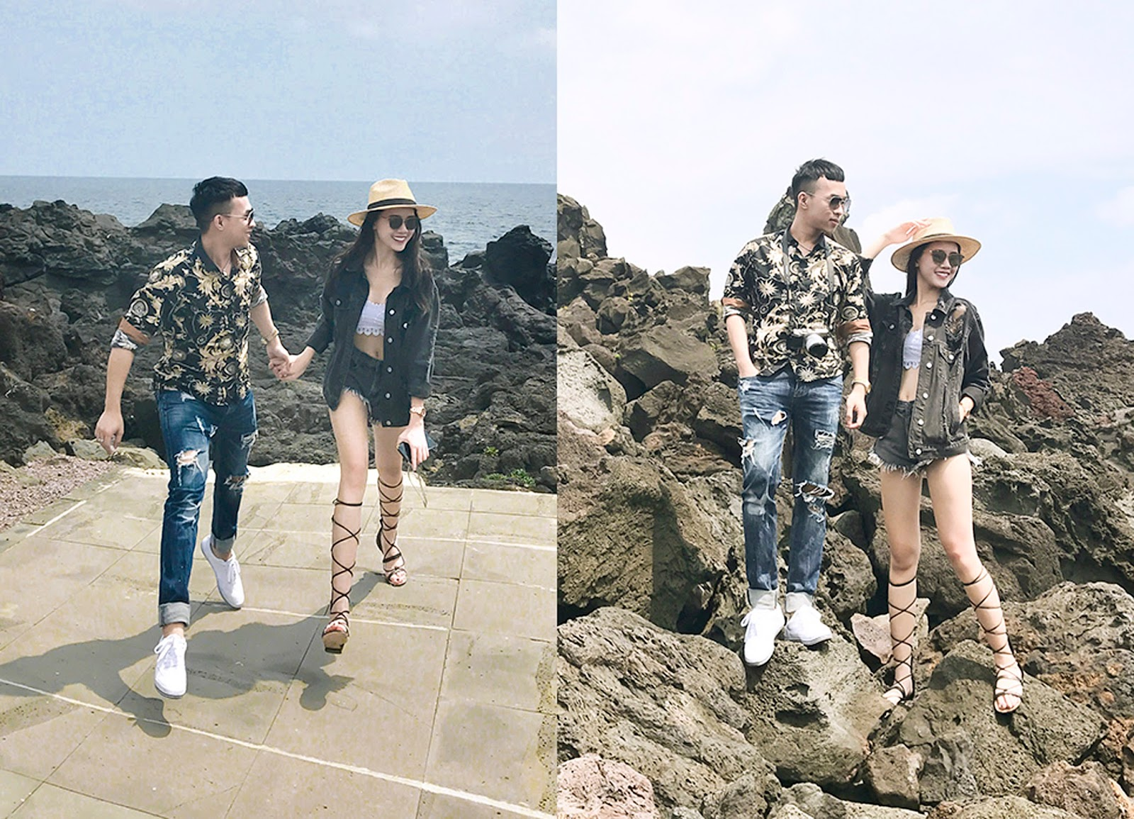 ... cặp đôi này trên trang cá nhân với chuyến du lịch 6 ngày 5 đêm tại Hàn Quốc với những hình ảnh đẹp lung linh, khách sạn hạng sang tại nơi này.