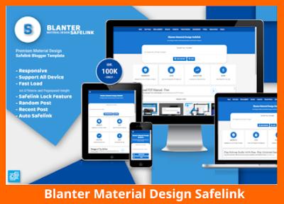 Blanter Material Design Safelink