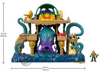 Mattel Fisher Price Imaginext DC Super Friends Aquaman Playset