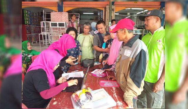 Sosialisasi Gerakan Melindungi Hak Pilih Pemilu 2019