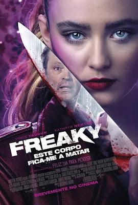 Freaky - Este Corpo Fica-te a Matar, Uma Comédia de Terror Juvenil Com o Tema da Troca de Corpos