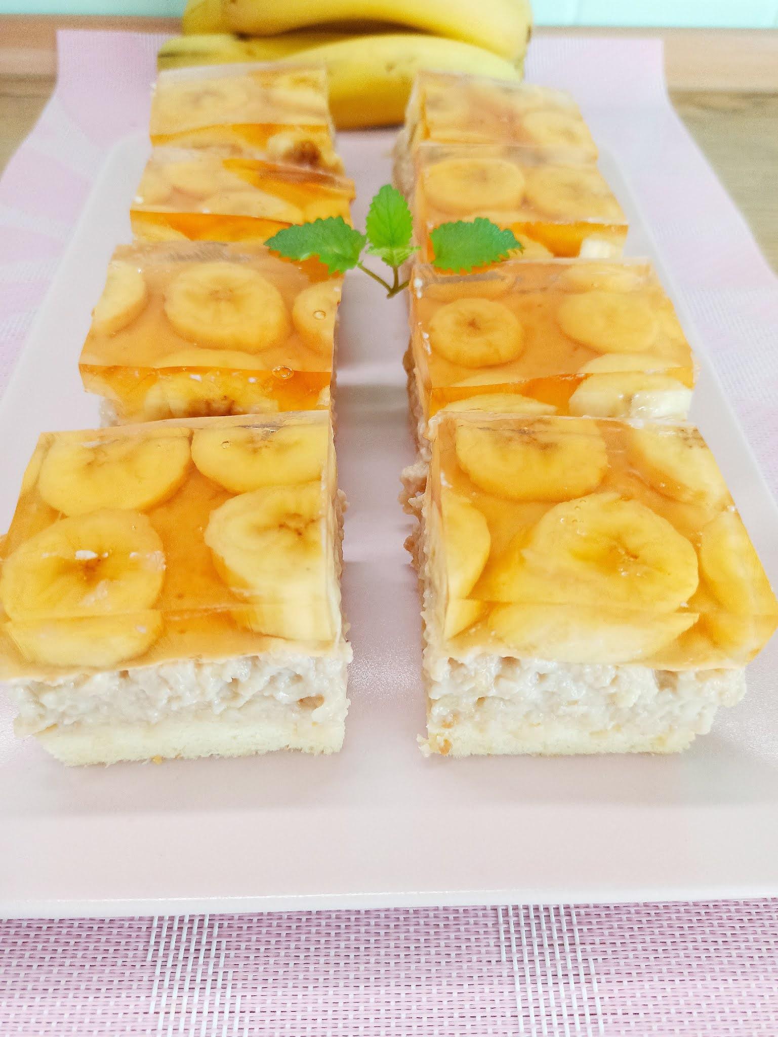 Ciasto bananowo-jabłkowe