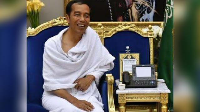 Pandu Jokowi: Difitnah dan Dihina, Dosa Presiden Jokowi Selalu Berkurang