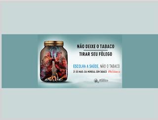 No Dia Mundial sem Tabaco, Saúde de Registro-SP alerta população sobre os perigos do cigarro