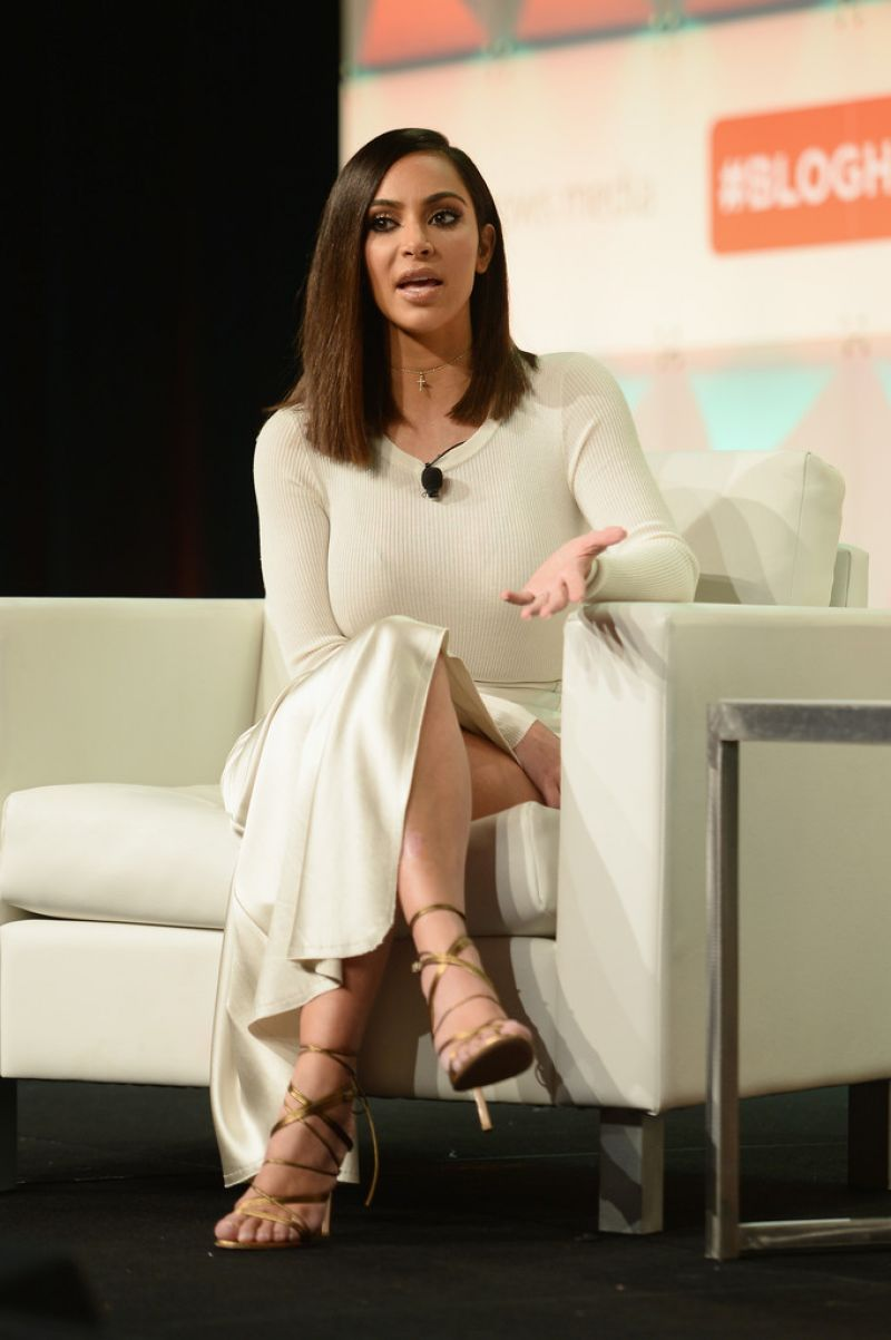 Kim Kardashian at Blogher16 Experts Among US Conference