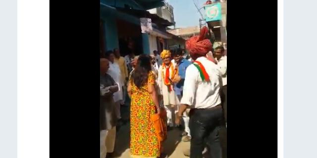 MLA MURLIDHAR PATIDAR: पिलवासा में भी विरोध, महिला ने खरी-खोटी सुनाई: VIDEO