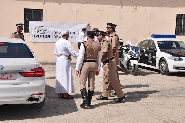 Tydzień Bezpieczeństwa na Drogach w Omanie
