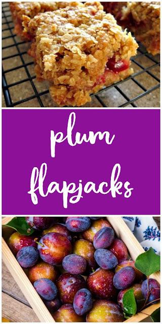 Plum Flapjacks