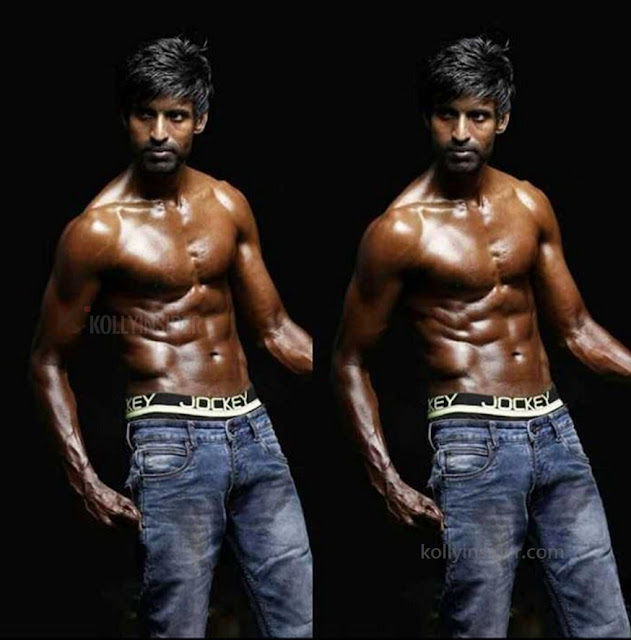 Soori six pack shirtless to showoff his physique and the pic goes viral