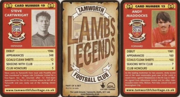 Www Tamworthfcheritage Co Uk Lambs Legends Tamworth Football Club