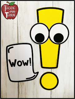 Punctuation Poster - Exclamation Mark
