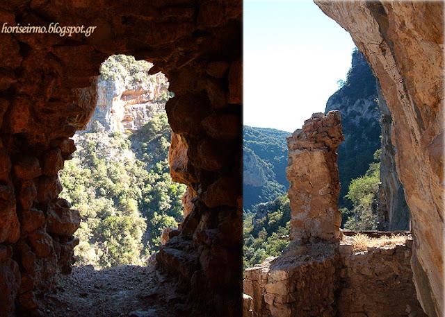 εικόνες από τη διαδρομή προς το κρυφό σχολειό-Μονή Φιλοσόφου