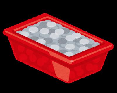 ドル箱のイラスト(コイン・一箱)