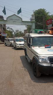 ग्रामीण क्षेत्रो मे कोरोना संक्रमण की चेन तोड़ने के लिए एसपी की लगातार कार्यवाही जारी