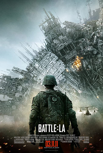 Battle Los Angeles 2011 Dual Audio ORG Hindi 350MB BluRay 480p ESubs poster