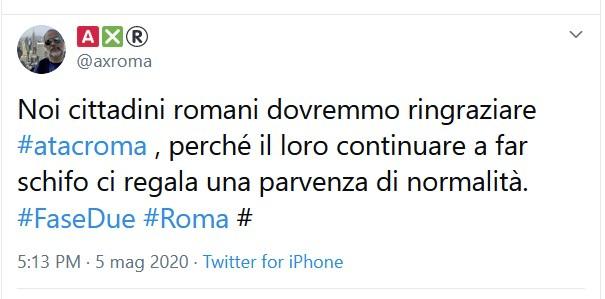Questa la stima della situazione del Trasporto Pubblico Roma martedì 12 maggio, alle ore 9:00