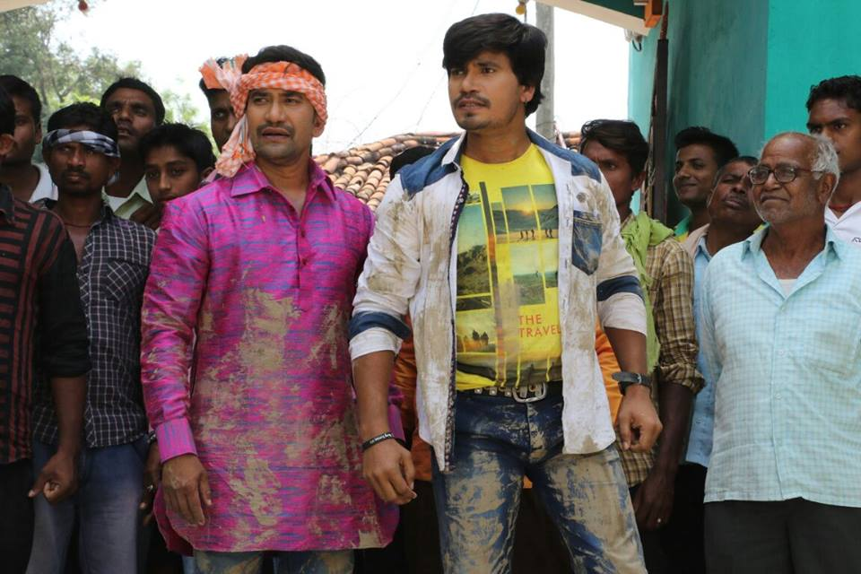 Amrapali Dubey Ram Lakhan Bhojpuri Movie Shooting stills, Ram Lakhan Bhandar Bhojpuri Movie
