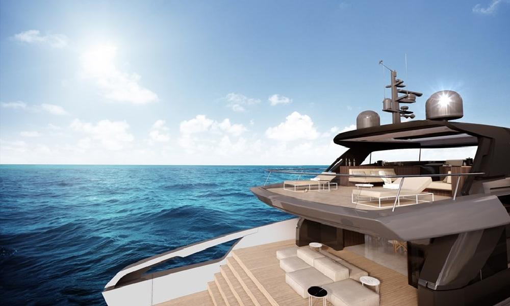 Piero Lissoni firma l'interno del nuovo yacht SX88