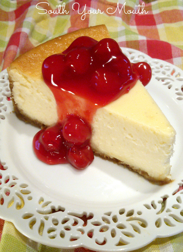Simply Perfect Cheesecake | A no-fail recipe for New York style cheesecake that cooks perfectly every time.