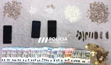 Figueira da Foz: Detidos dois homens com várias doses de heroína, cocaína e haxixe