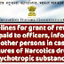 Guidelines for grant of rewards to be paid to officers, informers and other persons in case of seizures of Narcotics drugs, Psychotropic substances