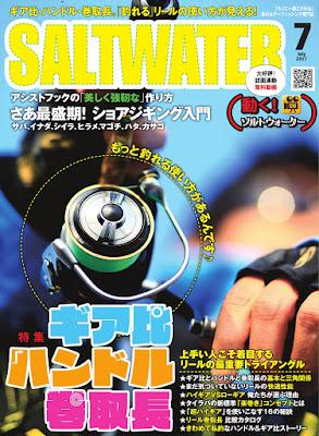 SALTWATER(ソルトウォーター) 2017年07月号 raw zip dl