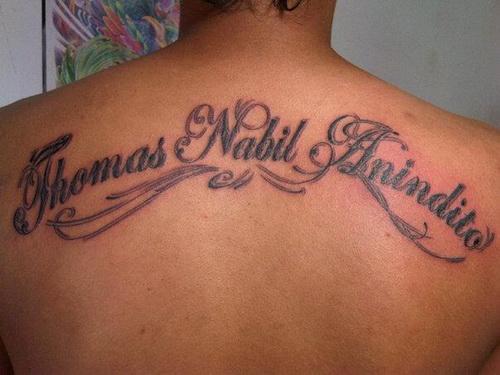 Free Online Font Generator Tattoos: Tattoo
