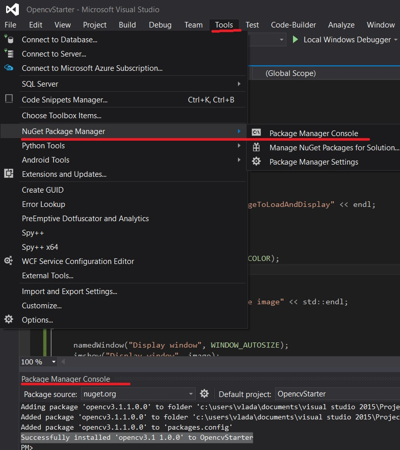 Writing a simple program with qt creator cannot find