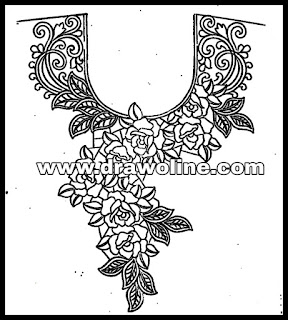 how to draw neck designs for kameez,blouse neck design sketches,neckline design sketch images for free